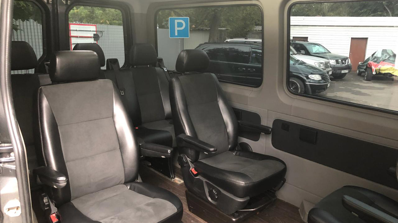 Mercedes-Benz Sprinter LUX 8 мест full