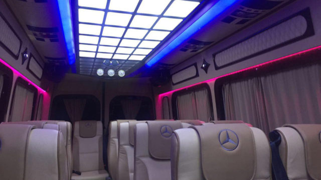 Mercedes Sprinter LUX 18 seats full