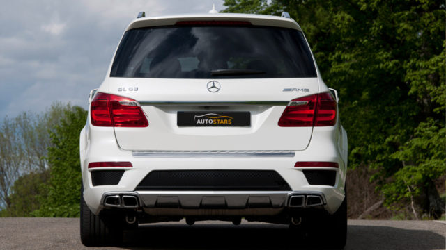 Mercedes-Benz GL белый full